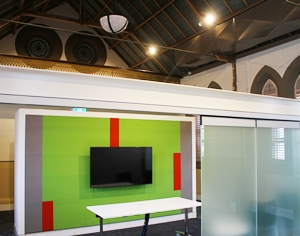Acoustic Fabric Wrapped Panels