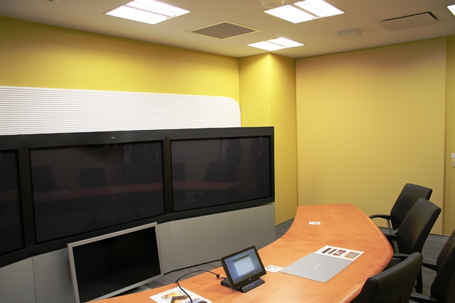 TelePresence Room Acoustic Wall