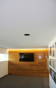 Ceiling stripped of protrusions