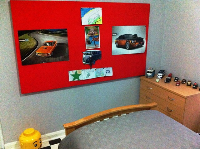 Silent Night Acoustic Pinboard