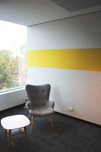 Acoustic Pinboard Wall