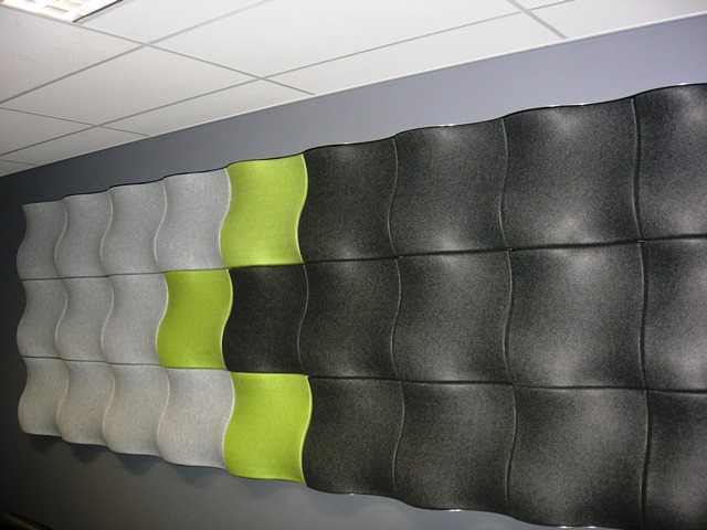 3D Acoustic Wall