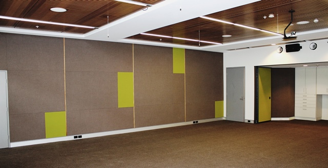 Acoustic Wrapped Panels
