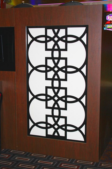 Acoustic Panels wrapped in Rim fabric