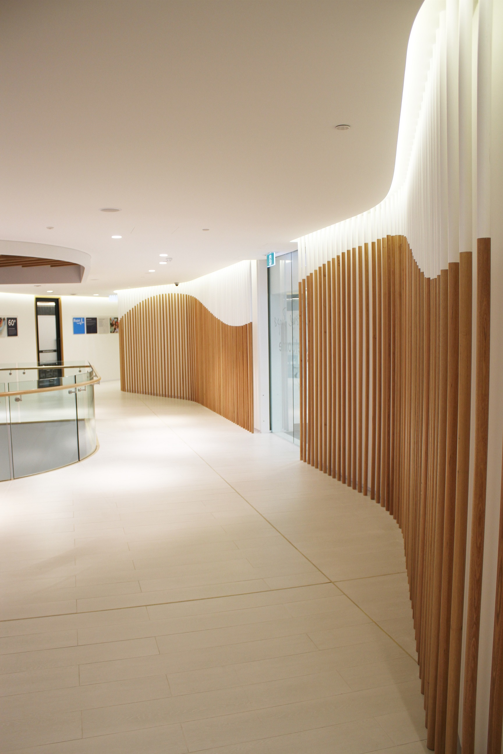 Bupa Head Office Acoustic Panels Volume Control